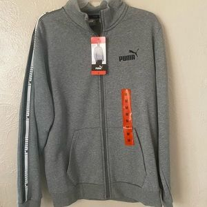 New Puma Fleece Men Jacket